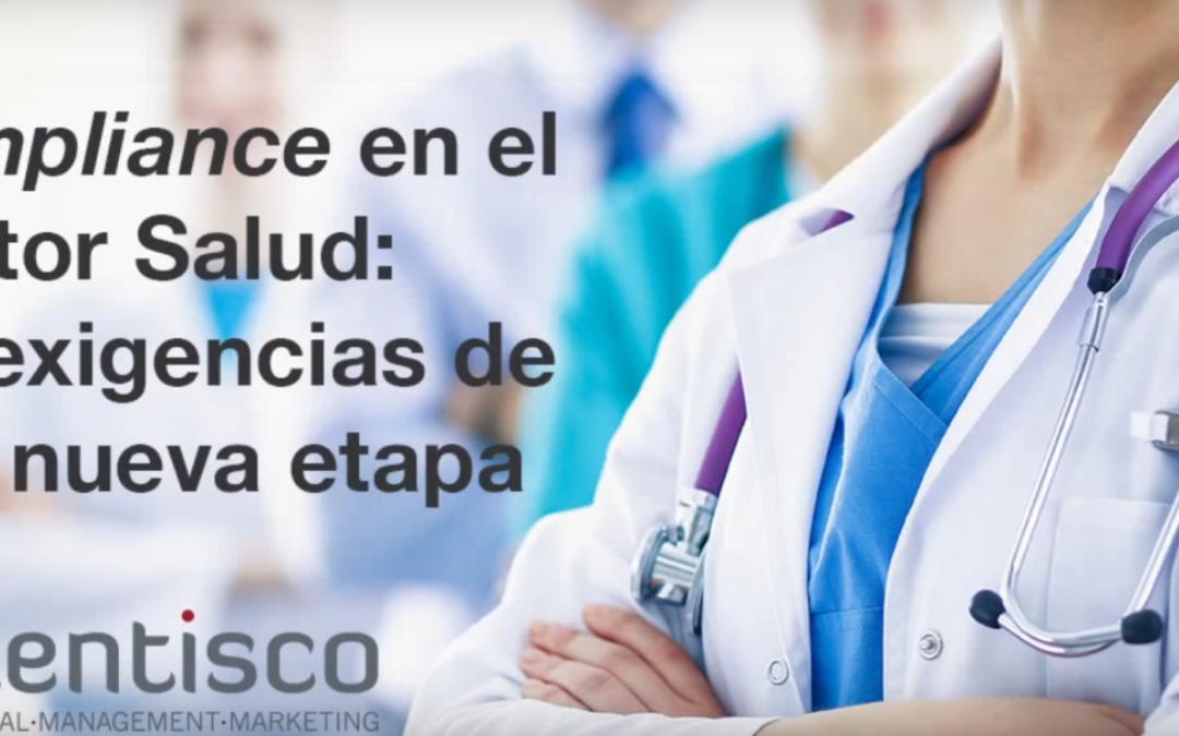 Vídeo explicativo webinar 'Compliance en el sector Salud'