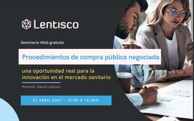 Seminario Web: 'Procedimientos de compra pública negociada'.